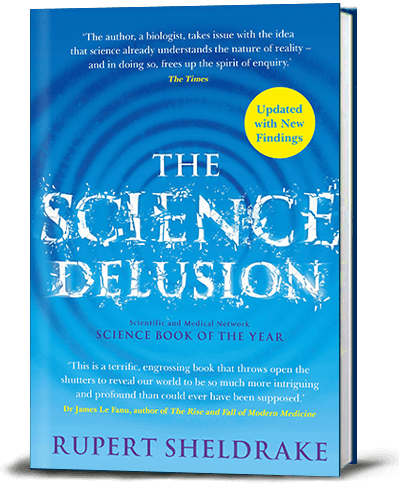 Book cover for The Science Delusion